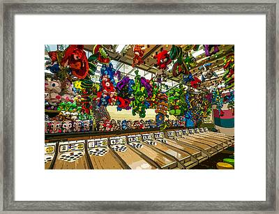 The Game Framed Print