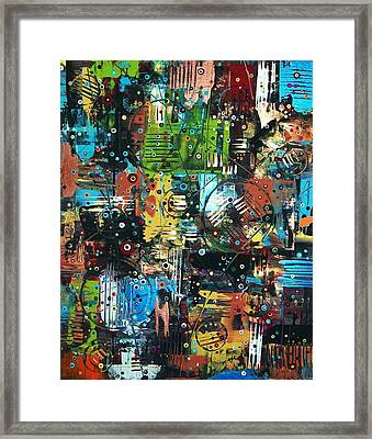 The Games People Play Framed Print by Charlotte Nunn