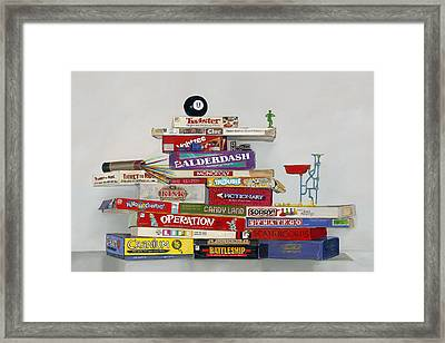 The Games People Play Framed Print