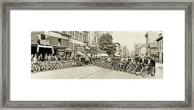 The Gang Framed Print by Jon Neidert