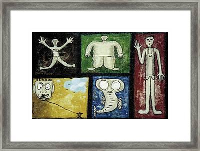 The Gang Of Five Framed Print