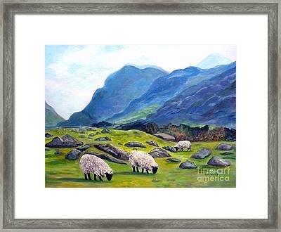 The Gap Of Dunloe Kilarney Ireland Framed Print