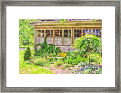 The Garden At Juniata Crossings Framed Print