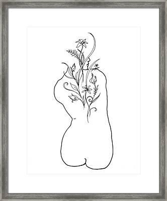 The Garden Framed Print