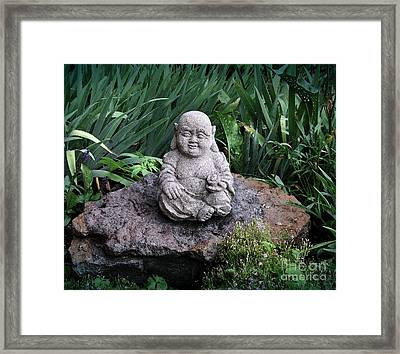The Garden Keeper Framed Print by Bedros Awak