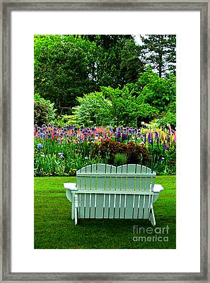 The Garden  Framed Print by Mindy Bench