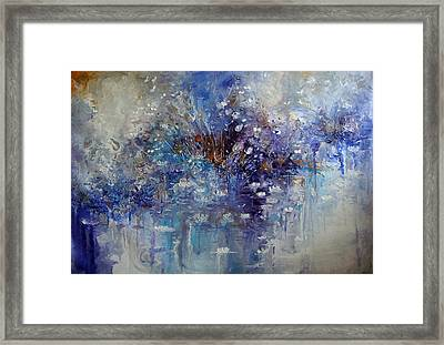The Garden Monet Didn't See Framed Print by Hermes Delicio