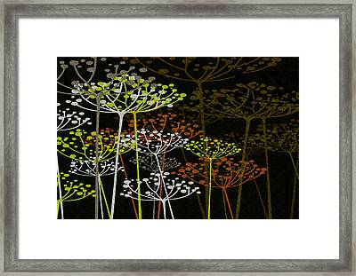 The Garden Of Your Mind 2 Framed Print by Angelina Vick