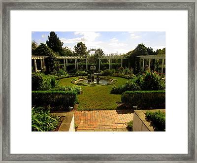 The Garden Framed Print by Peter LaPlaca