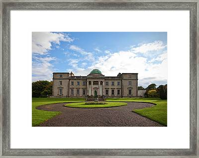 The Garden Side Of Emo Court Designed Framed Print by Panoramic Images