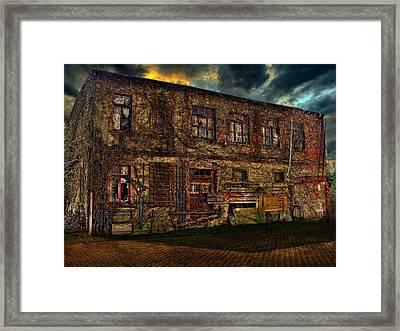 The Gardenhouse Framed Print