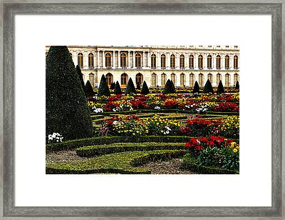 The Gardens At Versailles Framed Print by Tom Prendergast