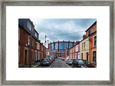 The Gasometer, Now Converted Framed Print by Panoramic Images