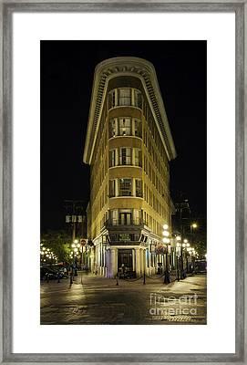 The Gastown Hotel Framed Print
