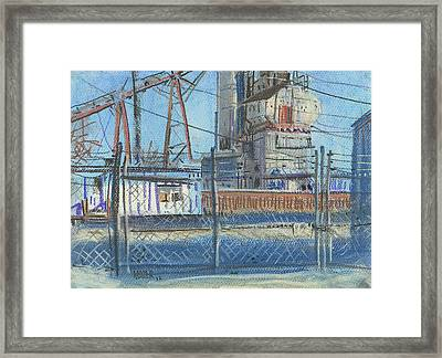 The Gate Framed Print by Donald Maier