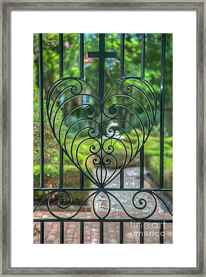 The Gate Keeper Framed Print by Dale Powell