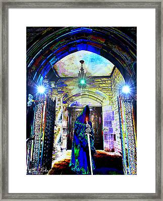 The Gate Keeper Framed Print by Michael Rucker