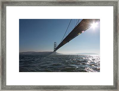 The Gate Framed Print by Lennie Green