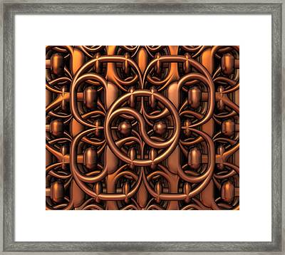 The Gate Framed Print by Lyle Hatch