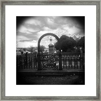 The Gate Framed Print by Paul Anderson