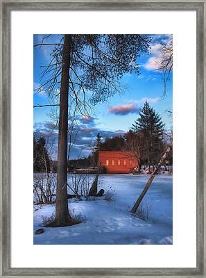 The Gatehouse Framed Print by Joann Vitali