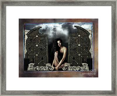 The Gates  Framed Print by Mauro Celotti