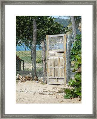 Framed Print featuring the photograph The Gates Of Paradise by Brian Boyle