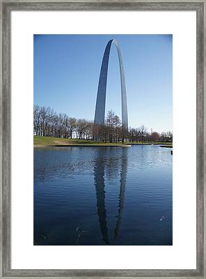 The Gateway Arch Framed Print