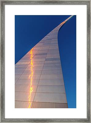 The Gateway Arch In St Framed Print