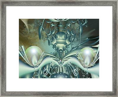 The Gateway Machine Framed Print by Mary Almond