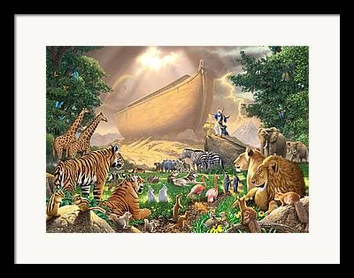 Ark Photographs Framed Prints