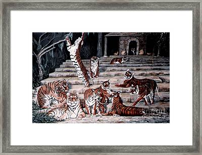 Framed Print featuring the painting The Gathering by DiDi Higginbotham