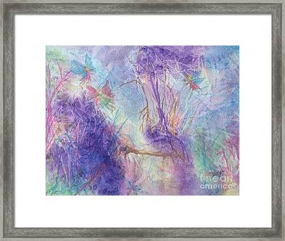 The Gathering Framed Print by Ellen Levinson