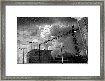 The Gathering Storm Framed Print by Larry Butterworth