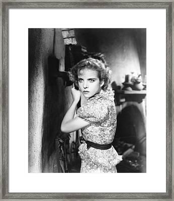 The Gay Desperado, Ida Lupino, 1936 Framed Print