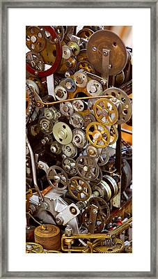 The Gears Of Life Framed Print