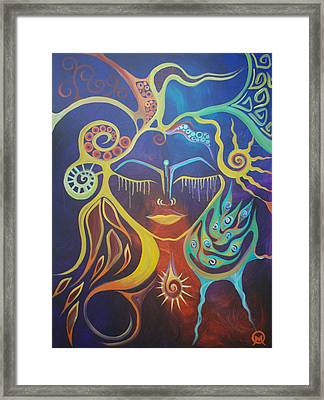 The Gem Framed Print by Michelle Oravitz