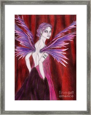 The Geminii Faery Framed Print by Coriander  Shea