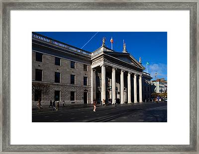The General Post Office , Dublin Framed Print by Panoramic Images