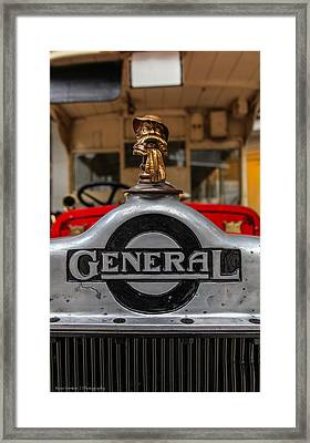 Framed Print featuring the photograph The General by Ross Henton