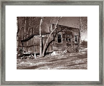 Framed Print featuring the photograph The General Store by Craig T Burgwardt