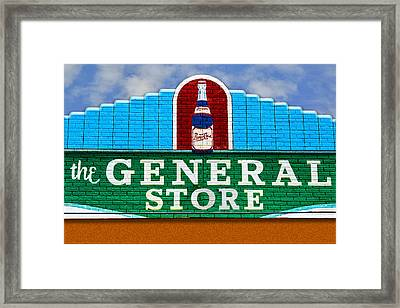 Framed Print featuring the photograph The General Store by Paul Wear
