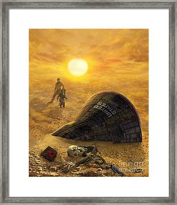 The Genesis Conspiracy Framed Print