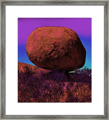 The Gentle Astroid  Framed Print