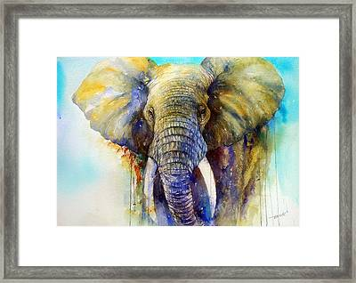 The Gentle Giant Framed Print