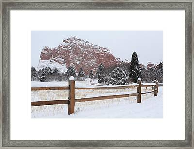 The Gentle Thief Of Colours Framed Print by Eric Glaser
