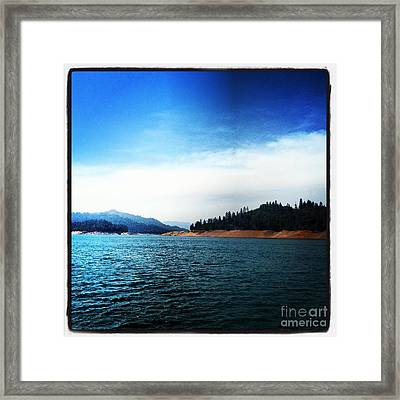 Framed Print featuring the photograph The Getaway by Luther Fine Art