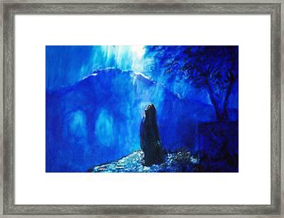 The Gethsemane Prayer Framed Print