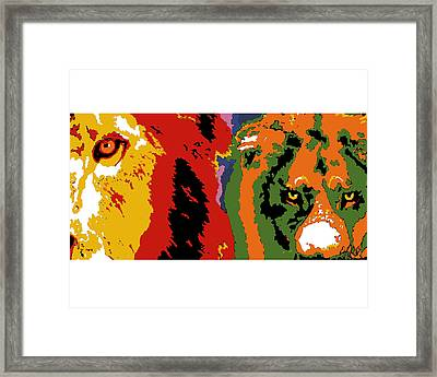 The Ghost And The Darkness Framed Print