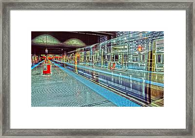 The Ghost L Framed Print by Harry B Brown